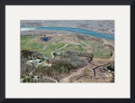 Fort Hill Area and Captain Penniman House Aerial by Christopher Seufert