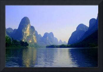 Li River, China Subject: Landscape, river, Guilin