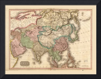 Map of Asia (1818)