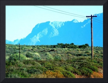 Mountain and Powerlines