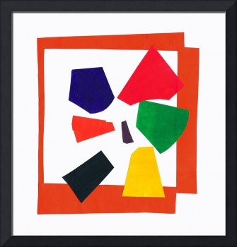 Matisse's Orange Red  Blue Orange Green Yellow Gre