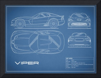 SRT Viper Blueprint