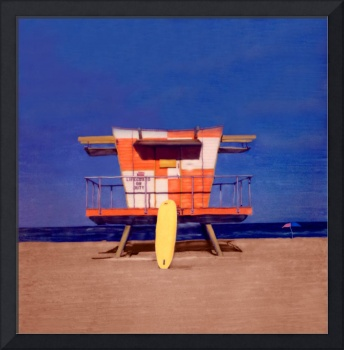 Miami Beach FL, Lifeguard Stand #4