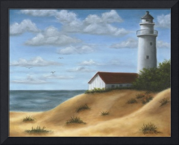Lighthouse on the Dunes