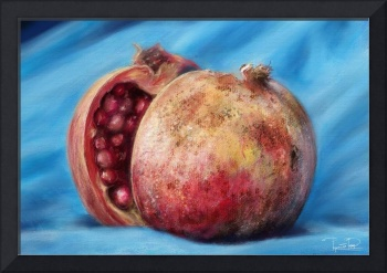 Classic Still Life Pomegranate