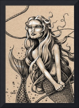 Mermaid with Rope