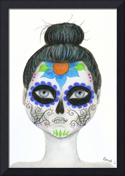 Sugar Skull Portrait