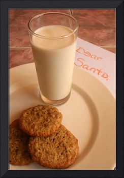 Chocolate Chip Cookies and Santas Letter