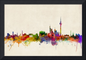 Berlin City Skyline