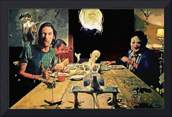 The Dinner Scene - Texas Chainsaw