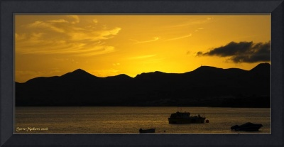 Sunset in Lanzarote....
