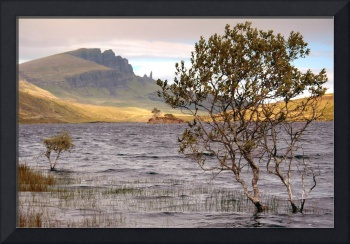 Storr loch and the Old Man of Storr