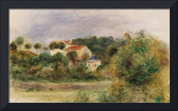 Houses in a Park by Renoir