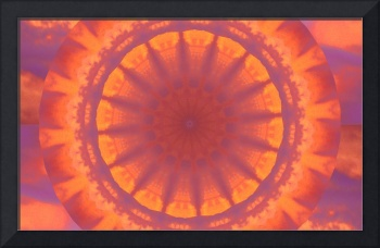 Orange and Purple Dharma Sky Wheel 1