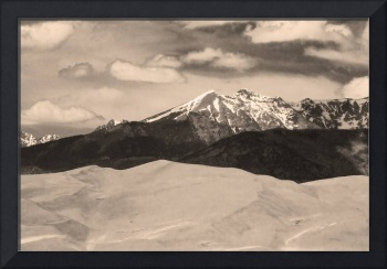 The Great Sand Dunes and Sangre de Cristo Mountain