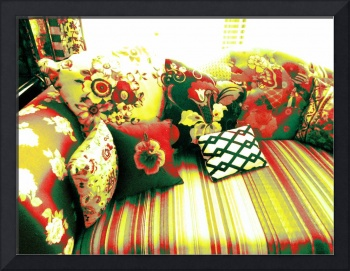 RED & YELLOW COUCH