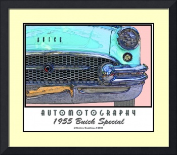1955 Buick Special - Front View - Poster