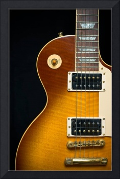 Classic Rock Guitar with Honey Burst Finish