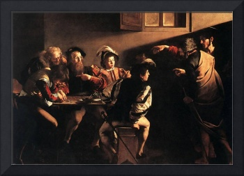 Caravaggio The Calling Of Saint Matthew