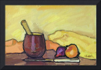 Still Life with Pounder
