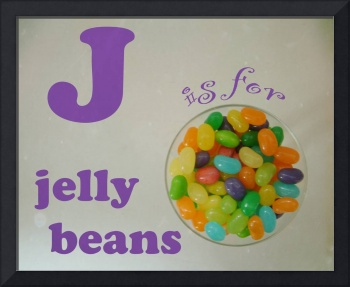 J is for Jelly Beans