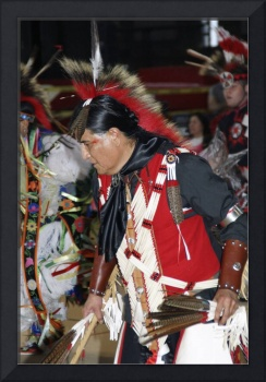 Male Dancer 02, Cornell University Powwow