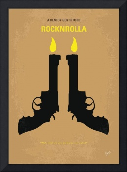 No071 My Rocknrolla minimal movie poster