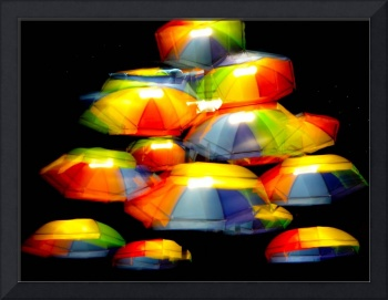 GLOWING UMBRELLAS SERIES, #1, Edit C