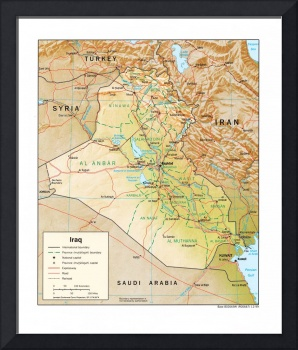 Map of Iraq (1999)