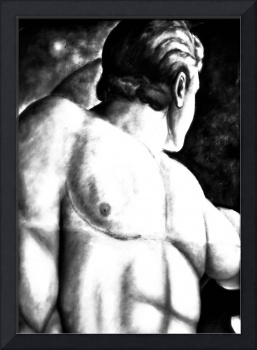 Male Study Canvas