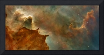 Space Photo Framed Print
