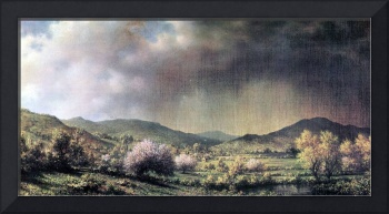 Spring Rain, the Valley of Connecticut