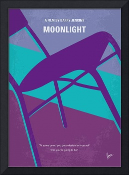 No757 My Moonlight minimal movie poster