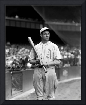 Jimmie Foxx bat in hand