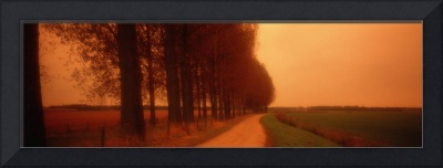 Country Road Holland Netherlands