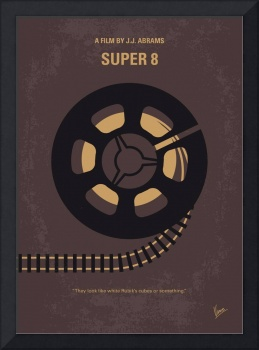 No578 My Super 8 minimal movie poster
