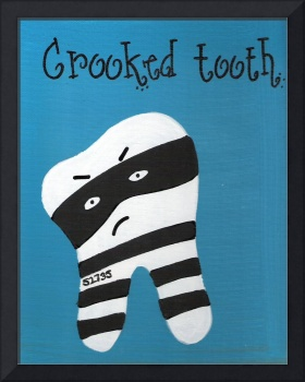 crooked tooth