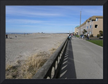 Promenade at Seaside, Oregon, USA