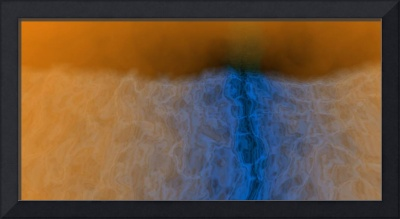 Study in Blue and Orange #3