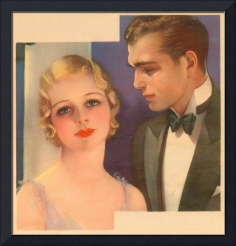 Couple--1931 makeup ad (artist unattributed)
