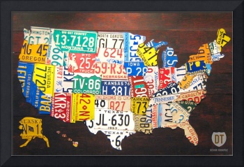 License Plate Map 2012