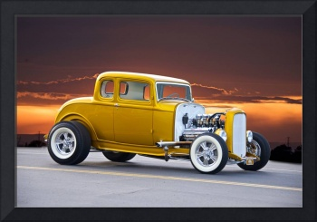 1932 Ford Five Window Coupe I