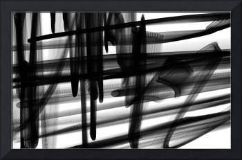 Industrial Abstract in Black and White 2015-19