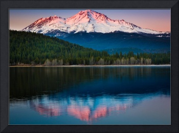 Mount Shasta Sunset