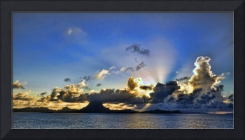 Morning Comes to Bora Bora