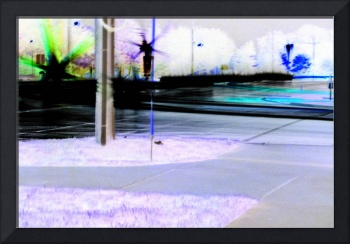 inverted light painting with carlights