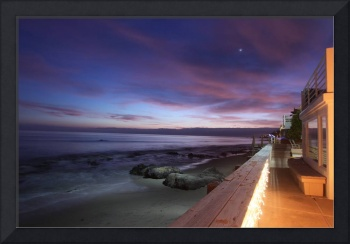 Malibu After Sunset