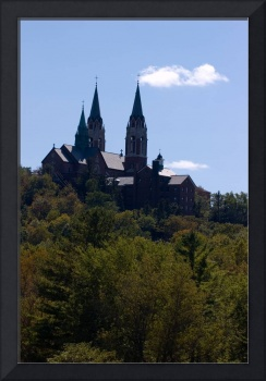View of Holy Hill in Summer