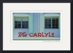 Miami Beach, Carlyle Hotel Poster by David Caldevilla