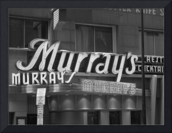 Murray's (sign)